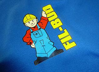 Druk logotypu na odzieży