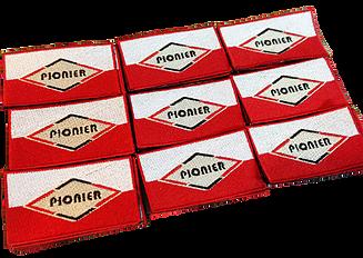 Naszywki z logo firmy