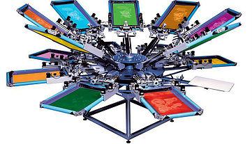 drukowanie techniką sitodrukową